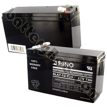 12V 7Ah with F1 terminal Altronix SMP3PMP4 SLA Replacement Battery Set